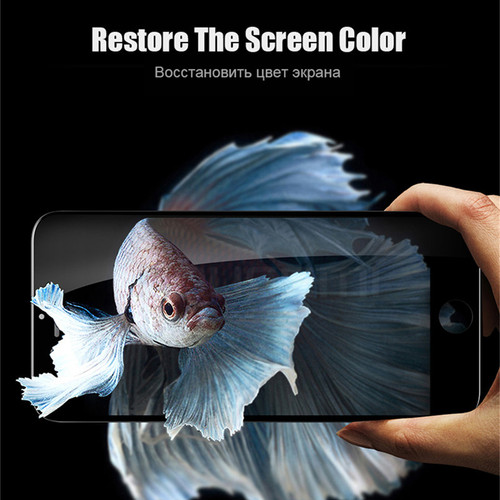 MOUSEMI For iPhone 6 7 6s 8 Plus X Tempered Glass Screen Protector Cover 2.5D Protective Glass For iPhone 6 7 8 Plus X On Glass
