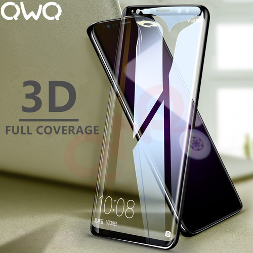 3D Full Cover Screen Protector Glass For Samsung Galaxy S9 S8 Plus S7 S6 edge Tempered Glass For samsung J5 J7 2016 2017 Note 8
