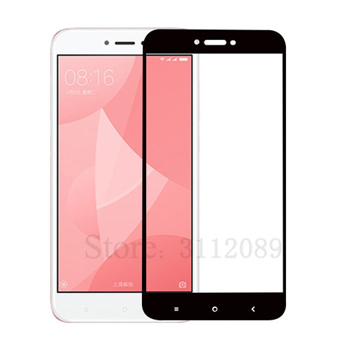 Full Screen Protective Tempered Glass For Xiaomi Redmi Note 4X Redmi 4X 9H Protector Film For Redmi Note 4X Tempered Glass