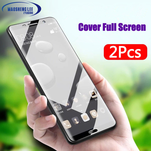 2Pcs/lot Full Tempered Glass For Huawei Mate 10 Screen Protector Mate 10 Lite Explosion-proof Glass film for huawei mate 10 pro
