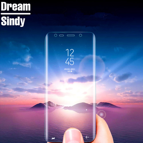 Pet Soft Film For Samsung Galaxy S6 S7 edge Protective Film For Galaxy S8 S8 PLus Full Screen Protector Film not Tempered Glass