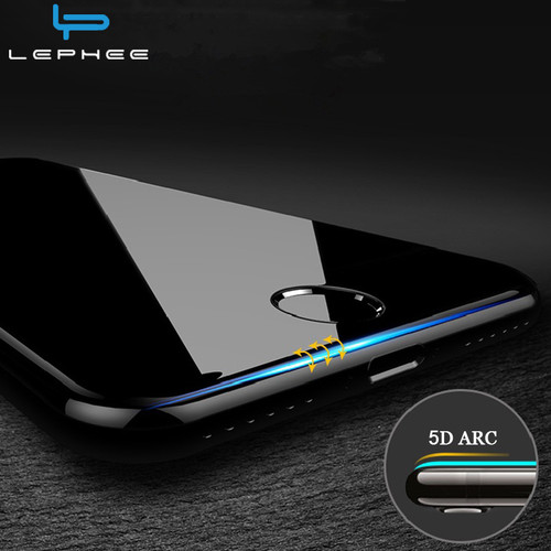 5D Curved for iPhone 7 Plus Tempered Glass for iPhone7 Plus iPhon7 Full Cover Screen Protector Protective Film 3D Anti-Explosion