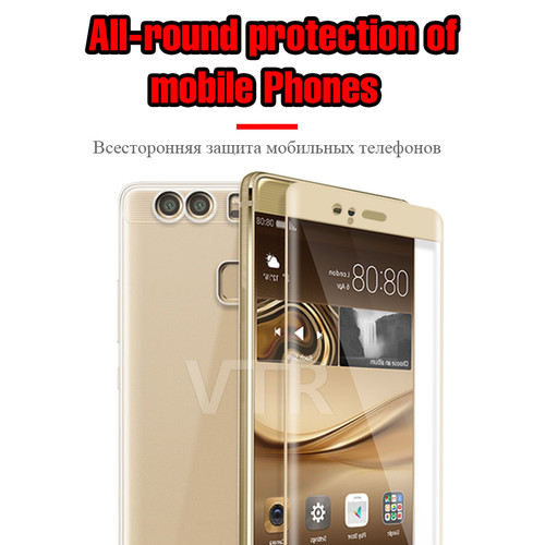 9H Tempered Glass Cover For Huawei P9 P10 Lite Screen Protector For Huawei P8 Lite 2017 Full Protective Glass Film