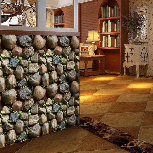 Antique Stone Self adhesive Wallpaper Waterproof Stone Wallpapers Brick Wall Paper Decorative Wall Stickers SA-1015