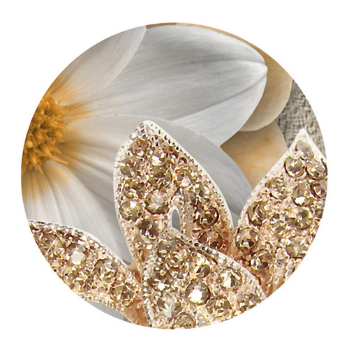 Custom Mural Wallpaper For Bedroom Walls 3D Luxury Gold Jewelry Flower Butterfly Background Wall Papers Home Decor Living Room