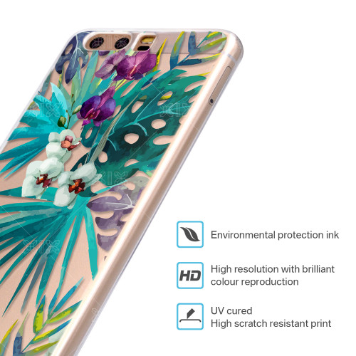 For Huawei P10 Lite Case Leaves Cover Huawei P9 Lite Case 2017 P8 P9 P20 Lite Pro Plus P Smart Honor 6A 6X 7X 8 9 Mate 10 Lite