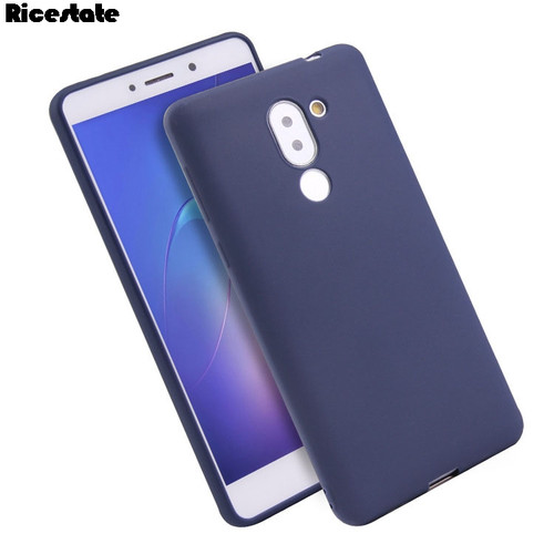 For Huawei Honor 6X case Huawei Mate 9 lite Silicone tpu Soft Back Cover for Huawei GR5 2017 Crystal and Matte solid colors Case