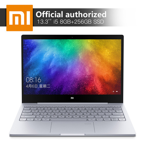 Original Xiaomi Notebook Air Intel Core i5-7200U 13.3'' 8GB RAM 256GB SSD Laptop MX150 2GB GDDR5 Fingerprint Recognize Windows10