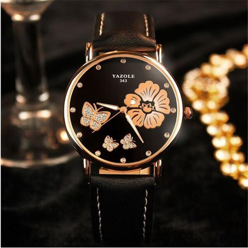YAZOLE 2017 Wrist Watch Women Ladies Brand Famous Female Wristwatch Clock Quartz Watch Girl Montre Femme Relogio Feminino