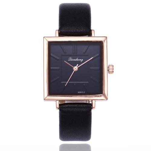Sloggi brand luxury Women wrist Watch Korean Fashion Square Dial Watch Women Ladies Simple Scale Quartz Watch relojes para mujer