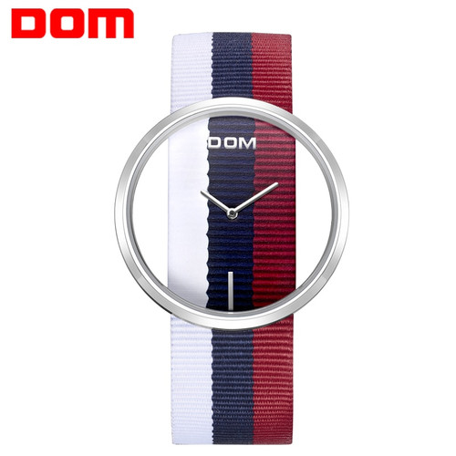 women's watches DOM Luxury Brand Fashion Simple Casual Quartz Stylish Canvas band relogio feminino clock wrist watch LP205L2M4
