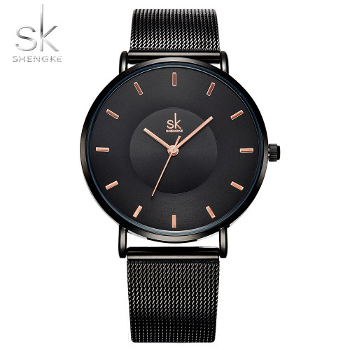 Women Watches Luxury Brand Rose Gold Quartz Watch Women Ladies Watch Stainless Steel Mesh Female Bracelet Clock Relogio Feminino