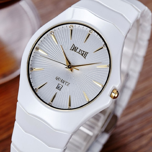 DALISHI Luxury Brand Ceramic Women Watch Quartz Female Watch Ladies Dress Watches Fashion Montre Femme Simple Dial Clock Relogio