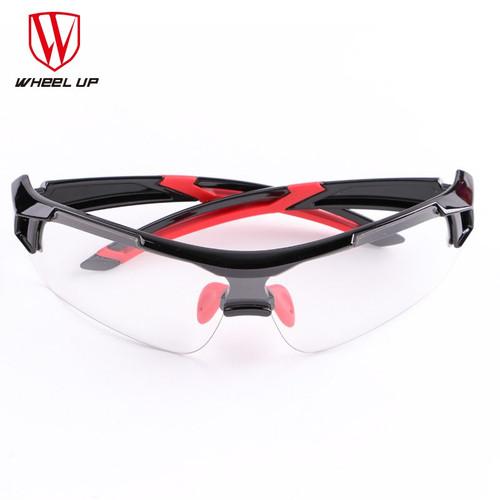 WHEEL UP Photochromic Cycling Glasses Discoloration Glasses MTB Road Bike Sport Sunglasses Bike Eyewear Anti-UV Bicycle Goggles
