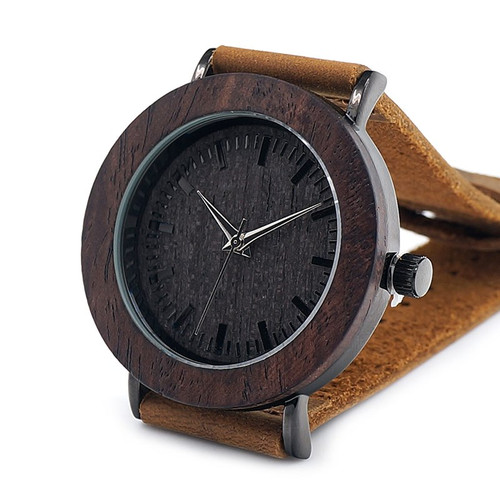 Luxury 2017 Brand BOBO BIRD Watch Women Genuine Leather Strap Wooden Quartz Wristwatches for Ladies Gifts relogio feminino