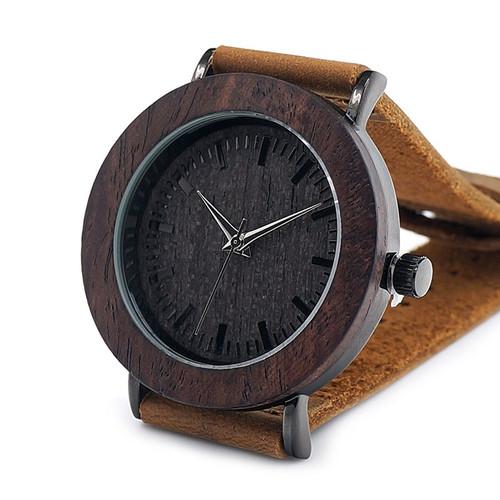 Luxury 2017 Brand BOBO BIRD Watch Women Genuine Leather Strap Wooden Quartz Wristwatches for Ladies Gifts relogio feminino