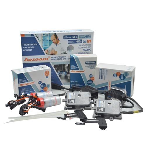 AOZOOM 1 Set  CANBUS HID Xenon Kits Car Headlight Slim Ballast Xenon Bulb Ballast Conversion H1 H3 H7 H8 H11 9005 9006