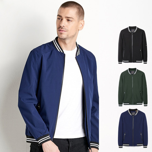 WholeSale Men 2018 Spring Autumn New Casual Solid Jacket Coat Men Bomber MA1 Fashion Elastic Warm WaterProof Jackets Coats Men
