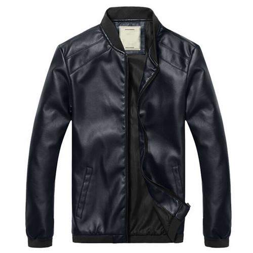 2018 New Arrival Leather Jackets Men's jacket male Outwear Men's Coats Spring & Autumn PU Jacket De Couro Coat Plus Size M-4XL