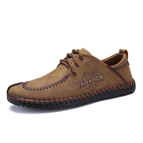 VANCAT 2018 New Spring Comfortable Men Casual Shoes Loafers Men Shoes High Quality Leather Shoes Men Flat Moccasins Shoes