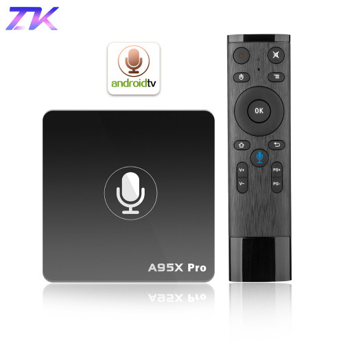 Google TV Box A95X Pro 2G 16G Smart Android 7.1 TV Box Voice Control Amlogic S905W WiFi LAN HD Media Player PK X96mini X96 mini