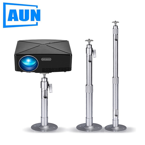 AUN Adjustable Projector Holder Ceiling Mount Max Length For Projector LED Proyector Beamer Mini Projector ZZ03