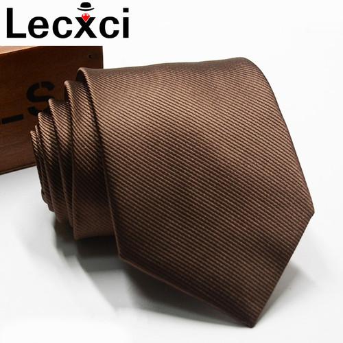 Classic Needles Mens Tie 7cm Stripe Neck Tie Plaid&Striped Business Wedding Party Gravatas Ties for men Jacquard Slim Tie