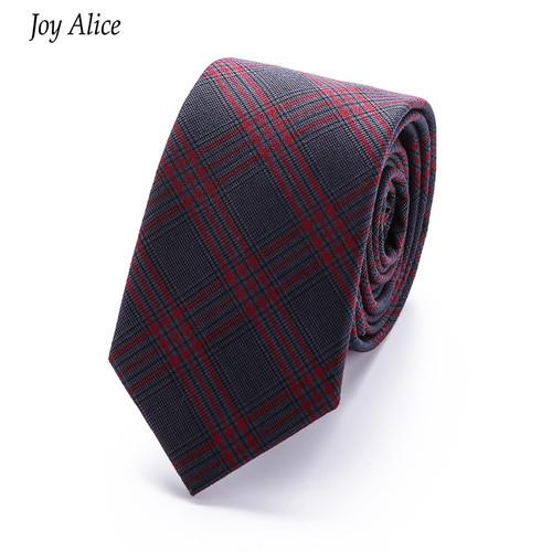 2018 Brand 6 cm necktie Skinny Slim Narrow cotton ties for Men wedding striped  party gravatas tie Neck tie T16-2 drop shipping