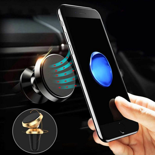 2017 Universal Car Phone Holder Stand Magnet Ari Vent Mount Holder For iPhone 6 6S 7 Plus GPS Magnetic Car Holder Pop Socket
