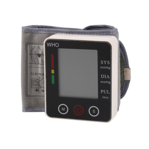 New 1Pc Health Care Touch Wrist Type Blood Pressure Monitor Watch Medical Arm Meter Pulse Drop Shipping Wholesale