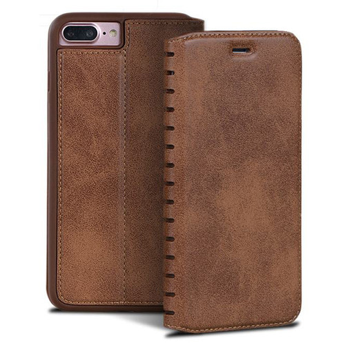 For iPhone 6s Leather Flip Case iPhone 6 6s Plus Cover Case Luxury Wallet Vintage Book Design For iPhone 6 s Plus Capa Para
