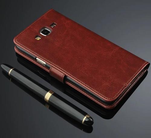For Samsung Galaxy J5 J500 J7 J700 2015 Case Luxury Flip Wallet Retro Leather Cases for Samsung J5 J7 2015 2016 J510 J710 Coque