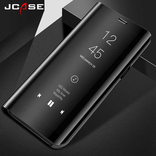 Smart View Stand Flip Cases For Samsung Galaxy J4 J6 J8 A6 Plus 2018 Phone Cover For Samsung Galaxy J2 J3 J5 J7 Prime 2016 2017