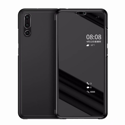 Clear Smart View Mirror Case For Huawei P20 Lite Pro Flip Cover For Huawei P Smart Hornor 8 9 10 Lite 7A 7C Pro Y5 Y6 Y7 Y9 2018