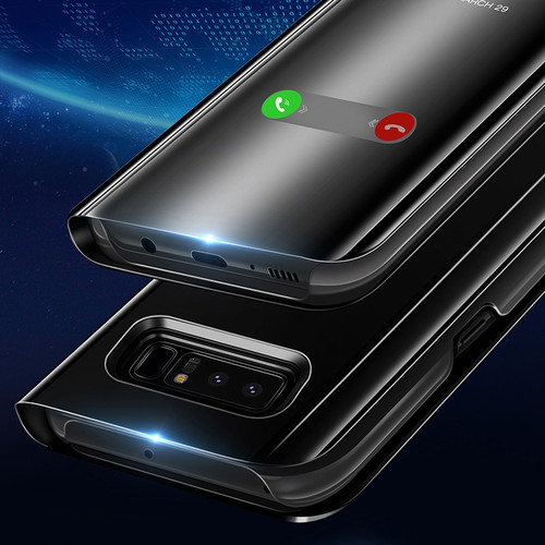 Smart Mirror View Case For Samsung Galaxy S9 S8 Plus S7 S6 Note 8 9 Flip Cover For Samsung J7 J5 J3 A5 2017 A3 A7 A8 J4 2018