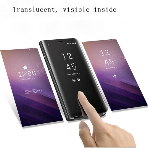 For VIVO V9 Y85 Flip Case Coque KOOSUK Plating Mirror Clear Smart Awaken View Stands Phone Cover Fundas For VIVO V9 Y85 capa