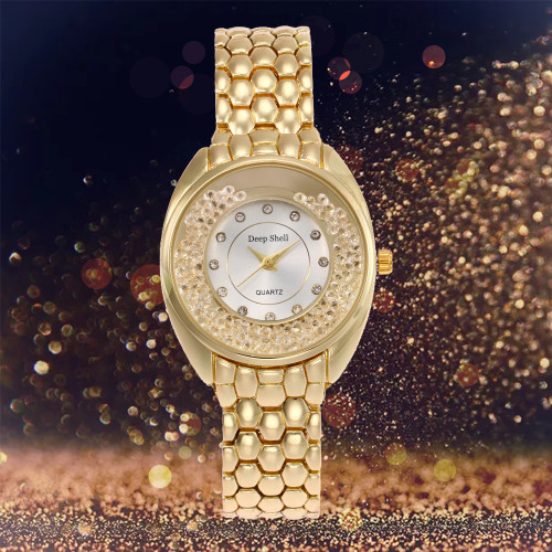 Sloggi full steel rhinestone Luxury Women Fashion Watches Hot Sale Generous Quartz Watch Ladies Female Wrist Watch  Reloj-mujer