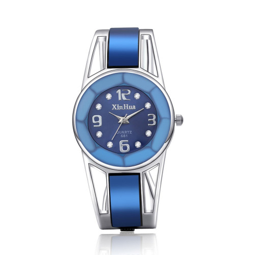 Hot Sale Fashion Bracelet Watch Luxury Rhinestone Wristwatch Women Watches Lady Hour Quarz Clock relogio feminino reloj mujer