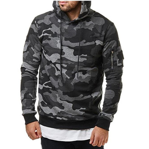 BOLUBAO 2018 New Autumn Men Hoodies Sweatshirt Fashion Camouflage Military Tracksuit Casual Pullover Male Hooded