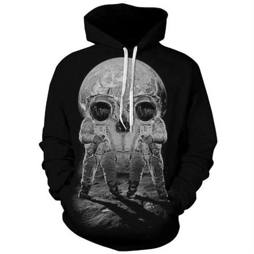 3D hooded shirt unisex fashion comfortable digital printing 2018 new men and women casual long-sleeved round neck hoodie