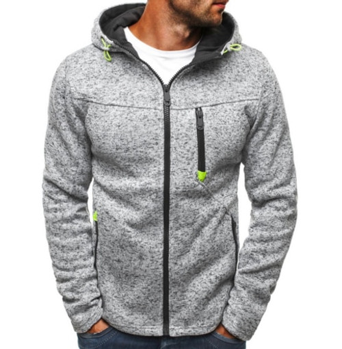 2018 Brand Hoodie Zipper Cardigan Hoodies Men Fashion Tracksuit Male Sweatshirt Hoody Mens Purpose Tour XXL