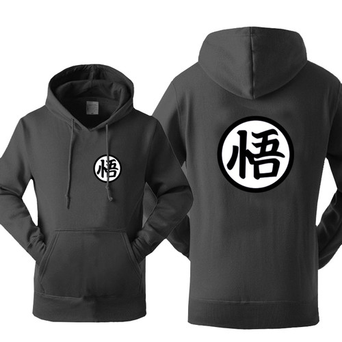 Anime Dragon Ball Hoodies Men Sweatshirts 2018 Autumn Winter Fleece Sweatshirt Fashion Hipster Sportsuit Tracksuit Male Hoody