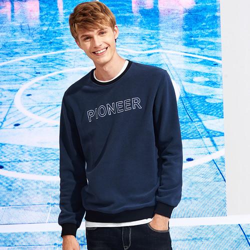 Pioneer Camp thick warm fleece hoodies men hot sale brand clothing autumn winter sweatshirts male quality men tracksuit 699035