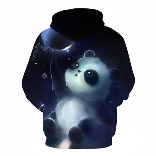 Cute Panda Printed 3D Hoodies Unisex Sweatshirts Men Women Coats Hooded Hoodie Autumn Winter Animal Tracksuits Fashion Pullover