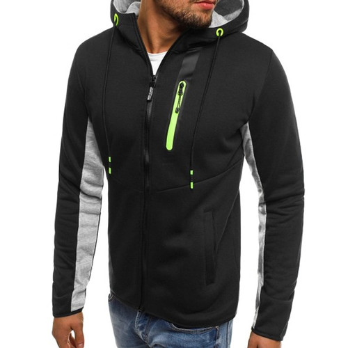 Hoodies Men 2018 Fashion Hoodies Brand Men Personality Zipper Sweatshirt Male Hoody Tracksuit Hip Hop Autumn Winter Hoodie Men