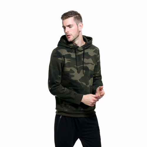 ASALI Camouflage Hoodies Men 2018 New Sweatshirt Male camo Hoody Hip Hop Autumn Winter Fleece Military Hoodie US Plus Size