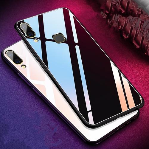 "Tempered Glass Protected Case For Coque Vivo V9 case For Fundas for Vivo V 9 Cover Vivo Y85 Coque 6.3"" Phone Bag Cases Vivo V9"