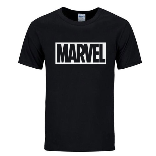 2017 New Brand Marvel t Shirt men tops tees Top quality cotton short sleeves Casual men tshirt marvel t shirts men free shipping