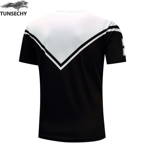 TUNSECHY fashion Brand Digital printing T-shirt Summer men short sleeve T-shirt Wholesale and retail Free transportation