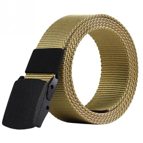 2018 Automatic Buckle Nylon Belt Male Army Tactical Belt Mens Military Waist Canvas Belts Cummerbunds cinto masculino lona